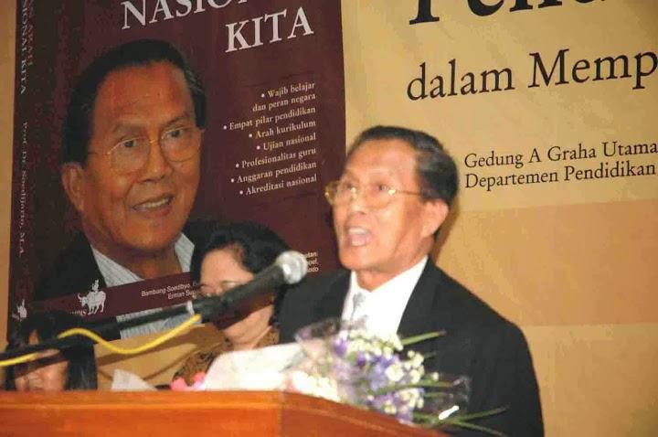 Selamat Jalan Prof. Soedijarto