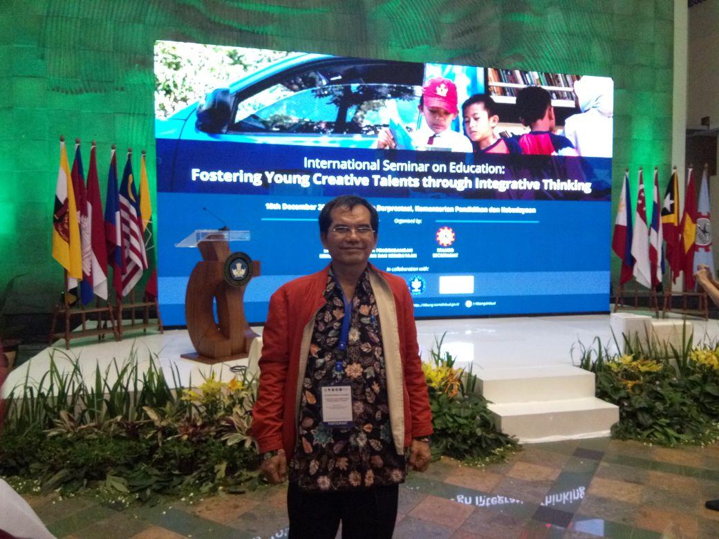 Sekum ISPI Hadiri Seminar Internasional di Jakarta