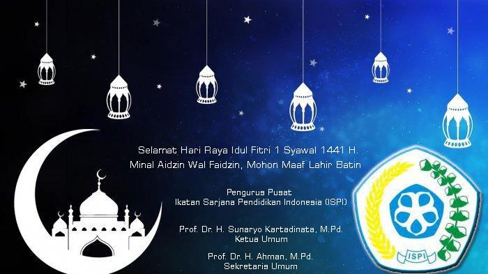 Selamat Idul Fitri 1 Syawal 1141 H